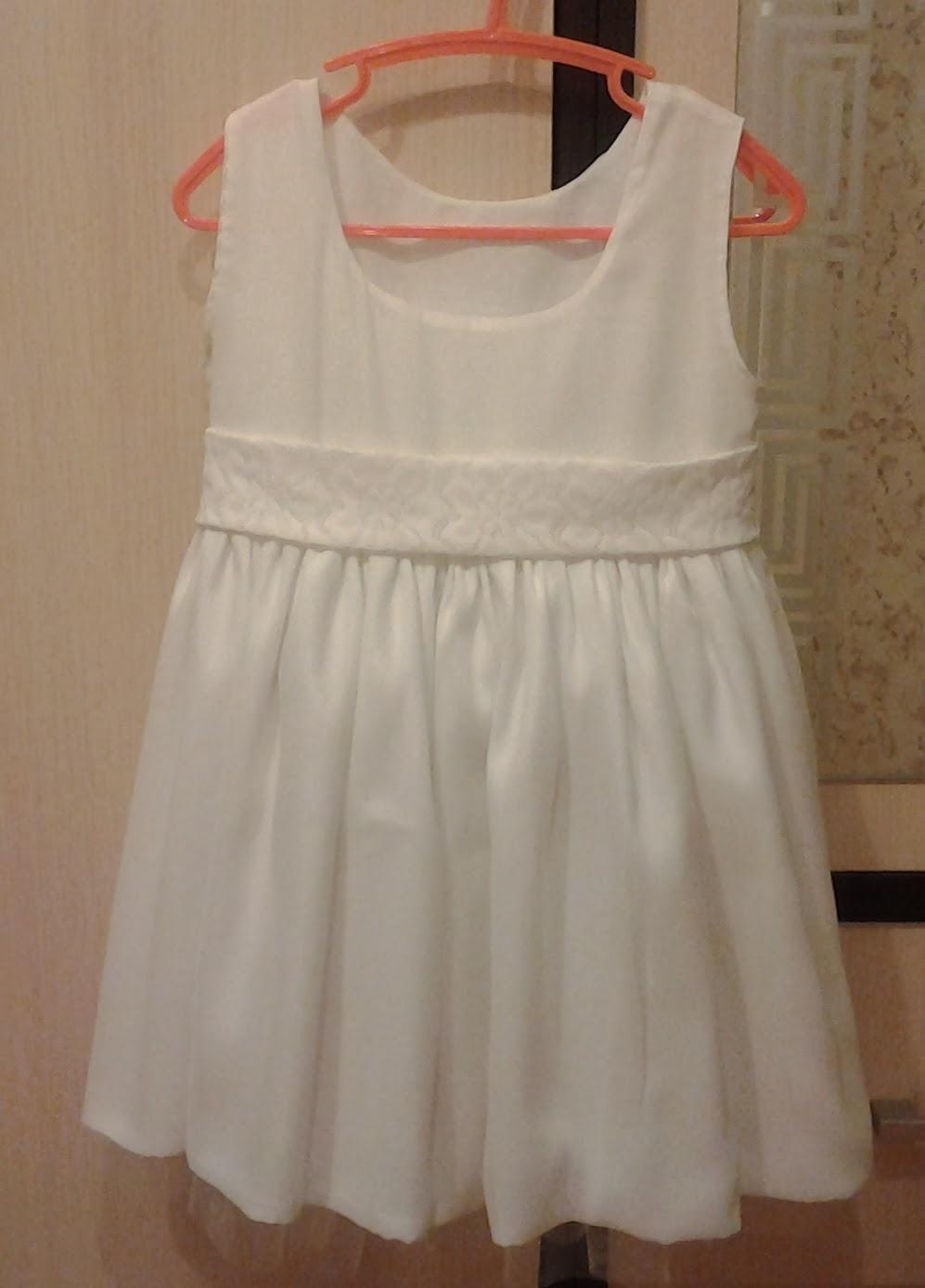 Нарядные платья для девочек пошить своими руками фото 222