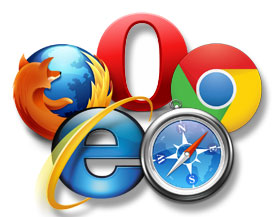 The Big Five Browsers