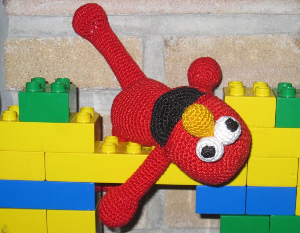 Amigurumi de Elmo