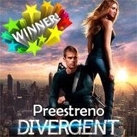 """Ganadores de las 2 entradas dobles para el preestreno de """"Divergente"""" en Madrid"""