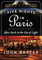 Cover of Five Nights in Paris by John Baxter