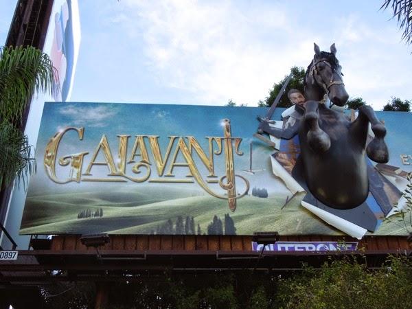 Special 3D Galavant horse billboard