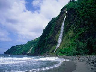 Waipio Valley Beach, Big Island, HI