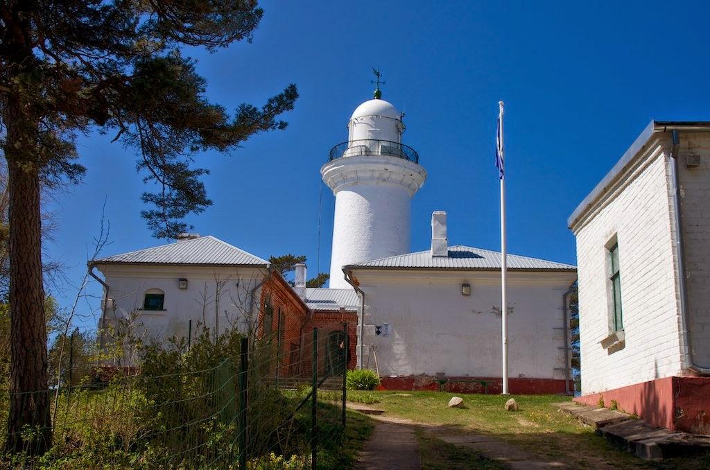 Ужавский маяк Латвия