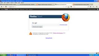 Mozilla Firefox Google