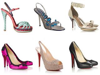 Model Sepatu Wanita High Heels