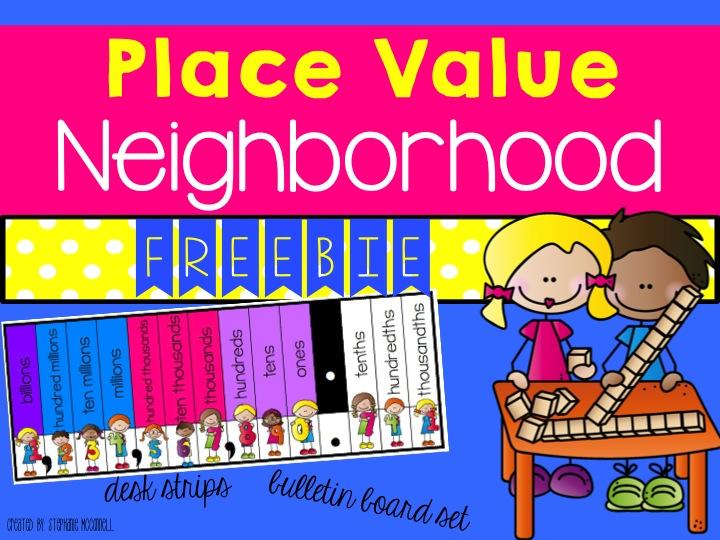 place value neighborhood freebie principal principles rh principalprinciples net Place Value Blocks Place Value Blocks