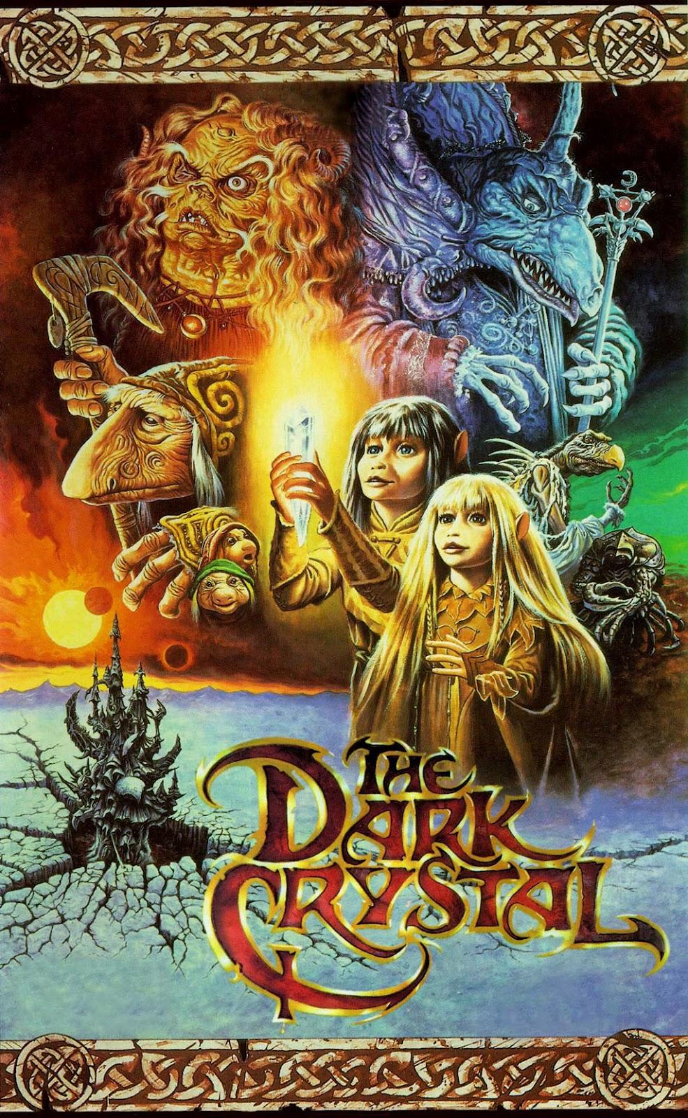 The Geeky Nerfherder: Movie Poster Art: The Dark Crystal ... Labyrinth 1986 Wallpaper