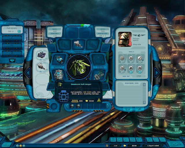 Space Rangers: A War Apart - Ship Hull Screenshot