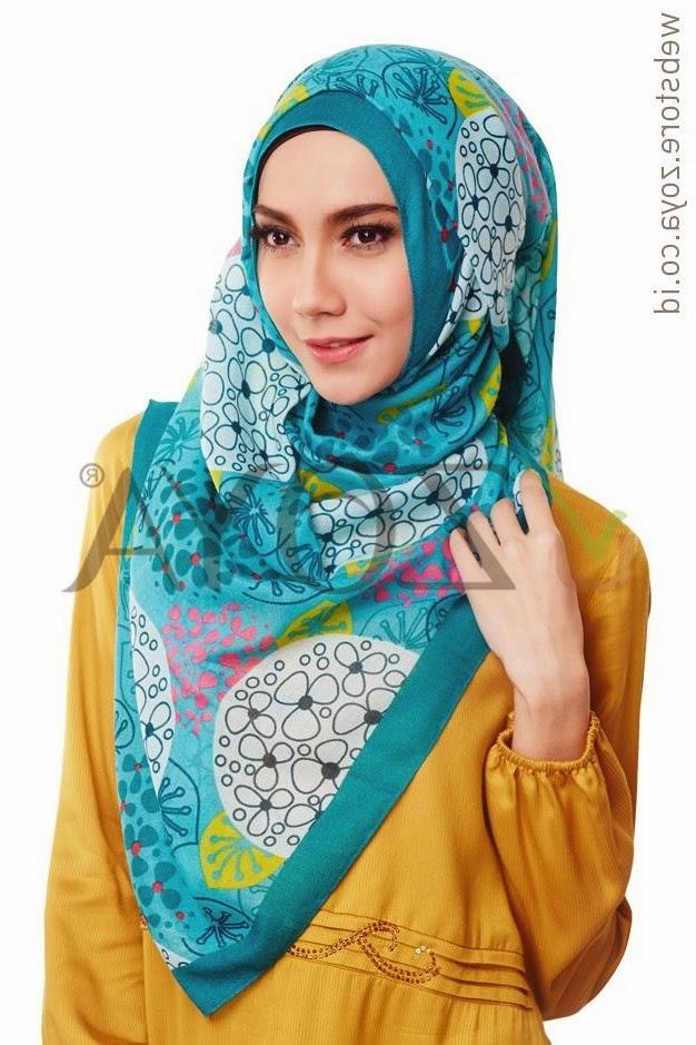 desain jilbab zoya terbaru