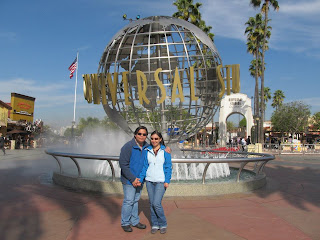 California Universal Studios Hollywood Globe