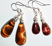 Tiger Eye Earrings Kirsten USA