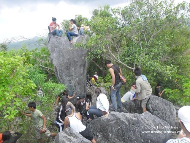 top view batongan cave photo