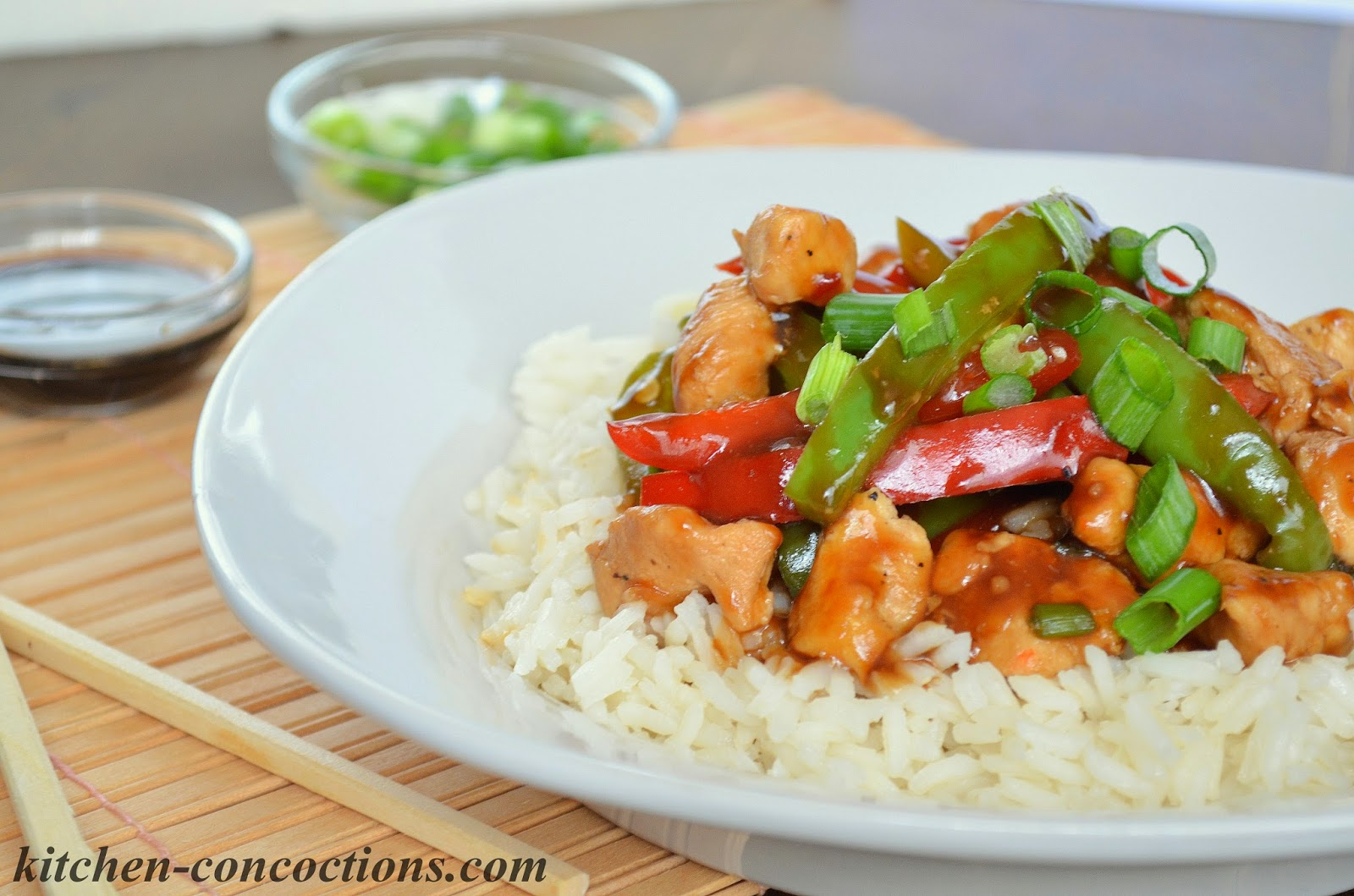 Kitchen Concoctions: Chicken and Bell Pepper Stir-Fry