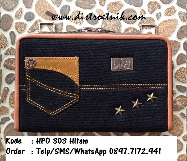dompet jeans it jus we hpo 303 series hitam