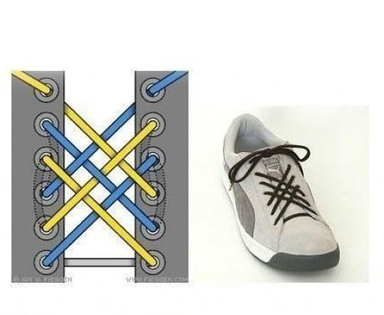 Berbagai macam cara mengikat Tali Sepatu | Good Luck Have Fun