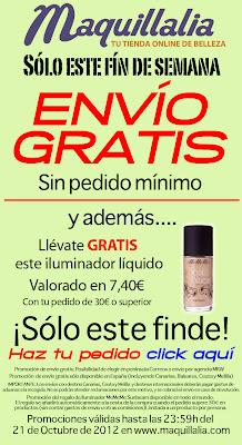Maquillalia: ENVIO GRATIS + Iluminador MeMeMe de regalo con tu pedido