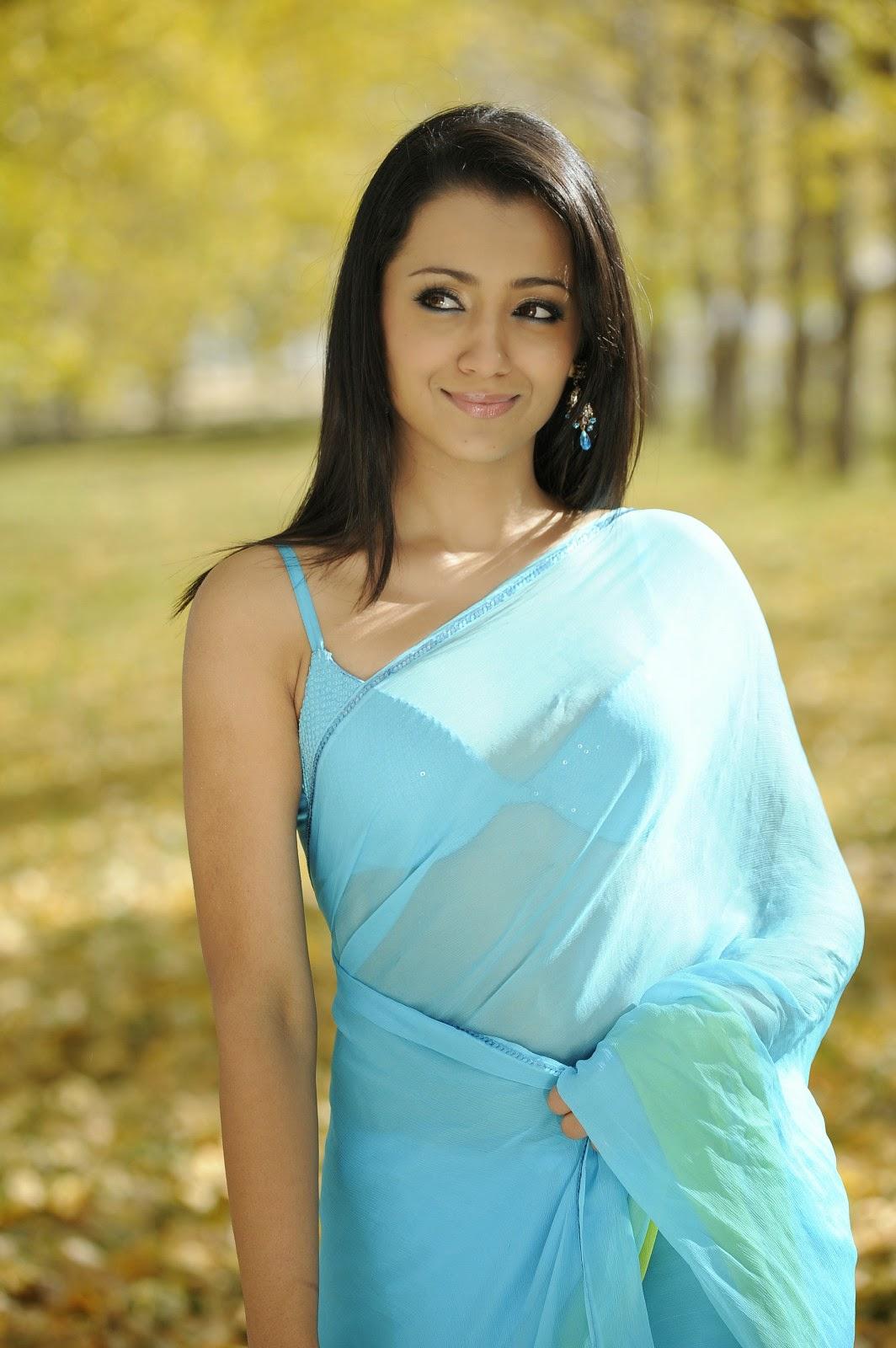 Are Trisha krishnan saree pity, that