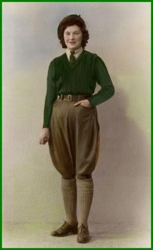 east german wool pants