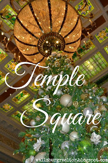 Temple Square - 101 Things to do in Utah this Holiday Season