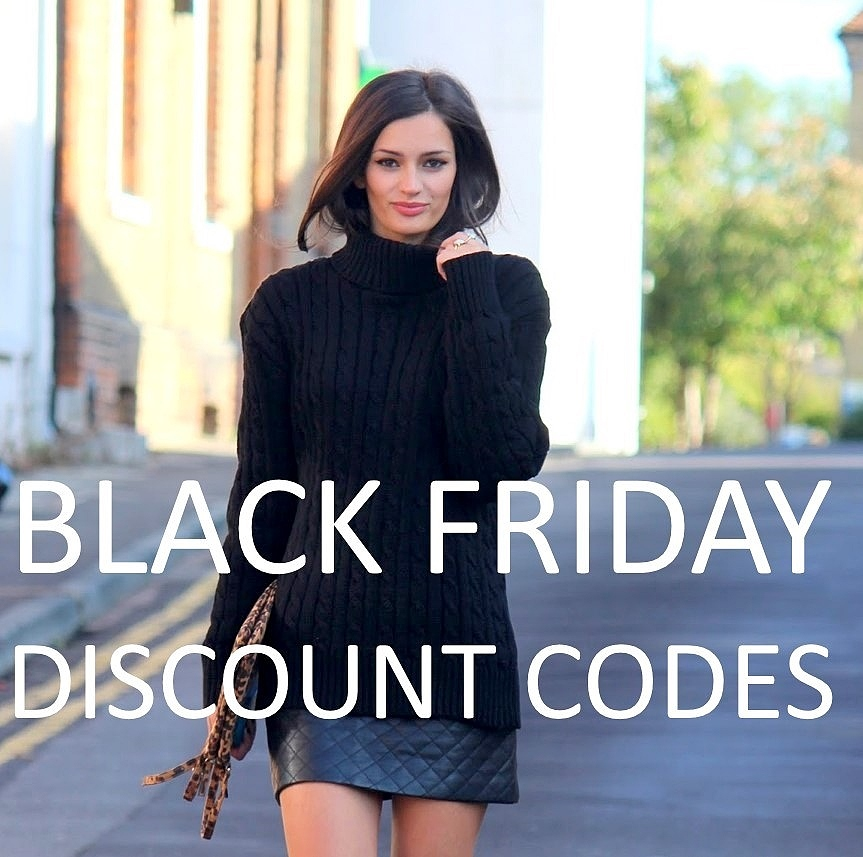 Black Friday Sales: Discount Codes