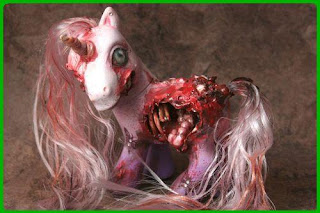 My little pony Zombified