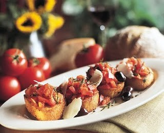 Pinterest Bruschetta
