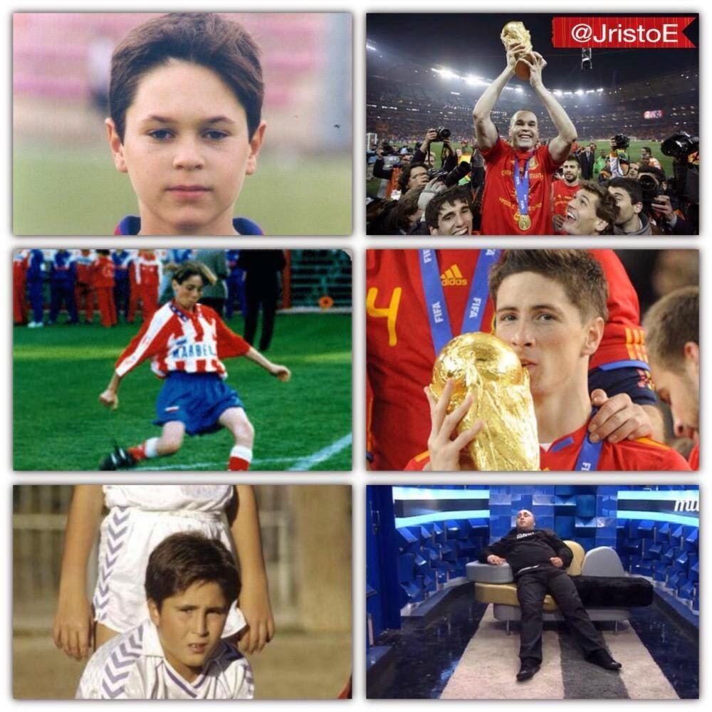 """La diferente evolución de 3 """"promesas del fútbol"""""""