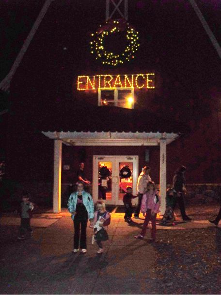 Travel NC With Kids: Tanglewood Festival of Lights Gift Village ...