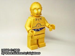 LEGO  Papercraft C-3PO (2012)