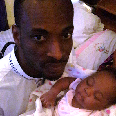 'Gongo Aso' crooner 9ice shares his daughter's photo