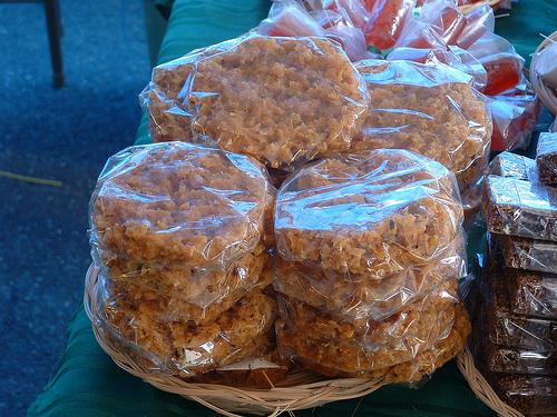 postre muy tradicional de la region el dulce de coco