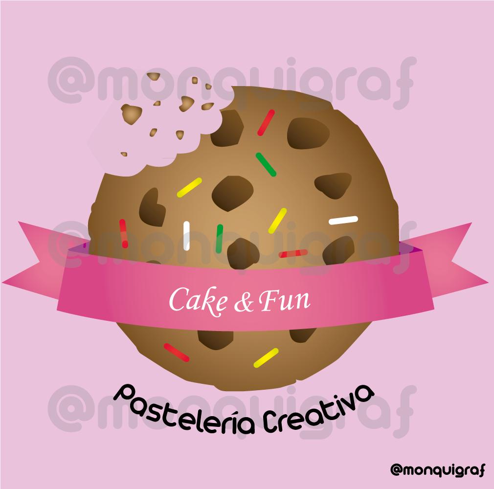 diseñografico de un logo para una pasteleria creativa para un ...