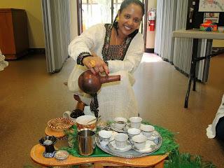 Ceremonia del Cafe - Coffee Ceremony (Eritrea)