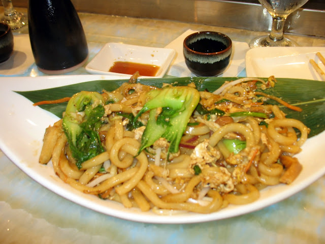 Vegetable Udon from Oishii Asian Fusion