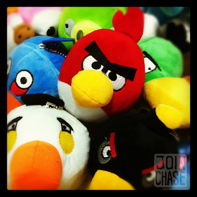 Angry Birds won out of claw machines in South Korea.