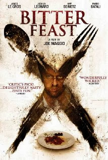 Joshua Leonard on poster for Bitter Feast