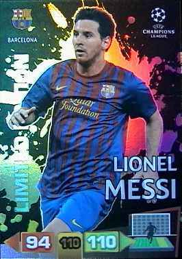 Pack war lionel messi lights up the uefa champions league - Night of champions 2010 match card ...