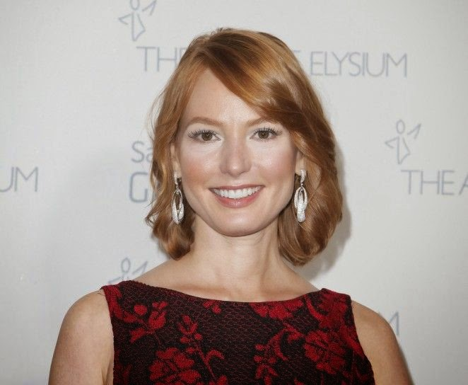 This is no spring, but Alicia Witt still hugged her beauty on the right theme.  That is exactly what the American actress did on Saturday, January 10, 2015 and all it took was switching up her angelic style to for a versatile option.  The 39-year-old wasn't worried about any spillages as she attended the Art Of Elysium Marina Abramovic's Heaven at Santa Monica, CA, USA in a red gown.