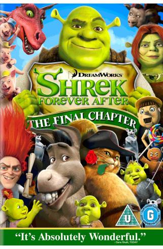 Edge Of The Plank: Shrek 4 Forever After DVD Film Review