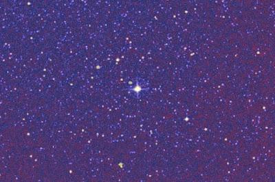 estrela em rota de colisão com a Terra