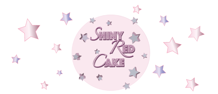 Shiny Red Cake