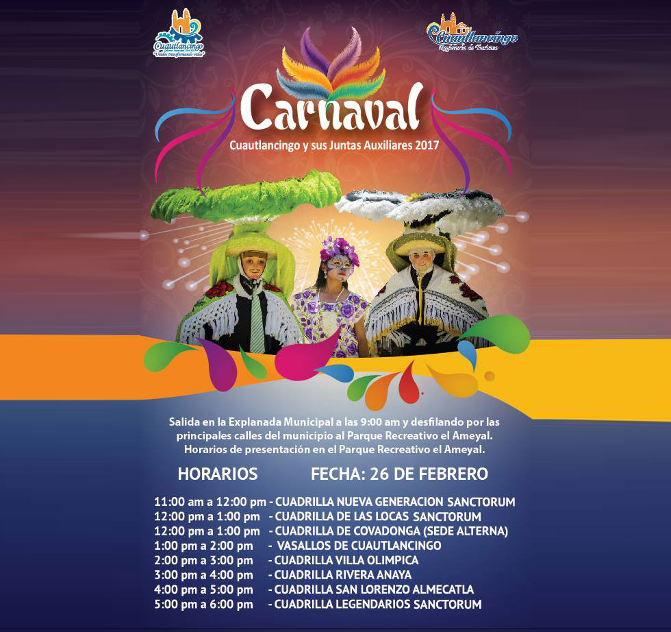 Carnaval en Cuautlancingo
