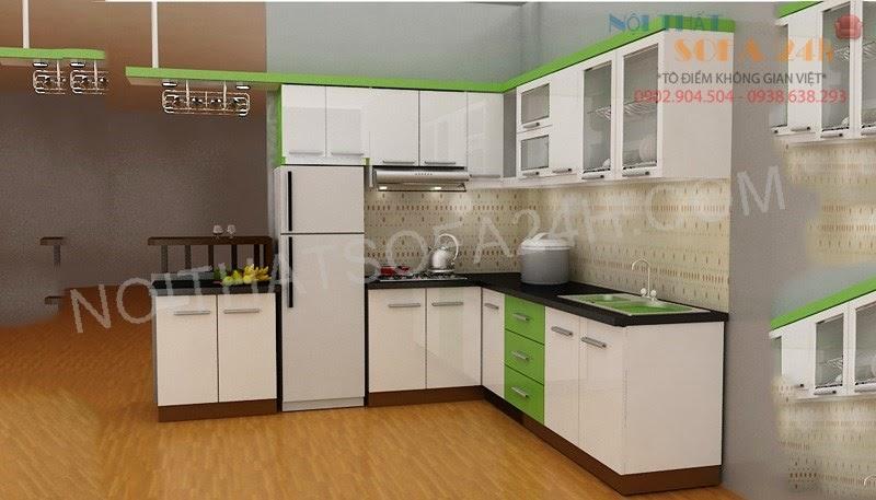 Tủ bếp TB001
