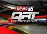 News TV Quick Response Team (or simply News TV QRT) is the afternoon news broadcast of GMA News TV which airs in the Philippines. It is aired weekdays at 5:30-6:00 […]