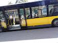 Testowy autobus na linii 1 MZK
