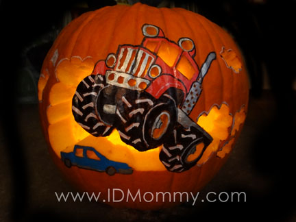 Id mommy halloween idmommy style for Monster pumpkin carving patterns