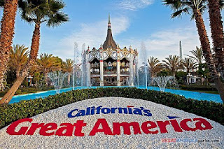 California's Great America Theme Park in Santa Clara, CA