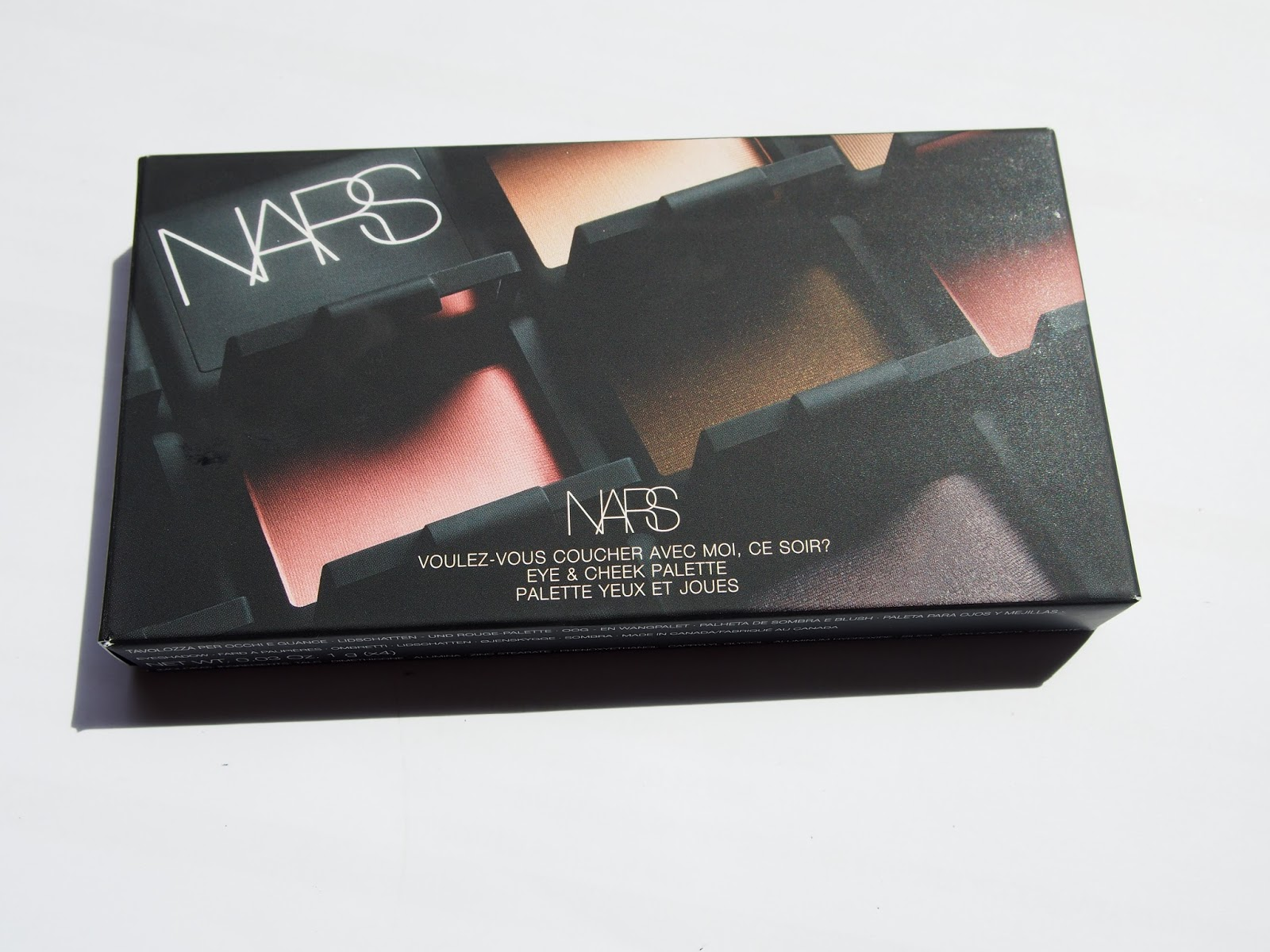 My beauty hoard nars voulez vous coucher vec moi ce soir eye and cheek palette swatches and review - Voulez vous coucher avec moi ce soir betekenis ...