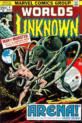 Marvel Comics, Worlds Unknown #4, Fredric Brown's Arena